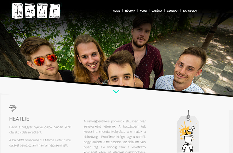 Heatlie - website